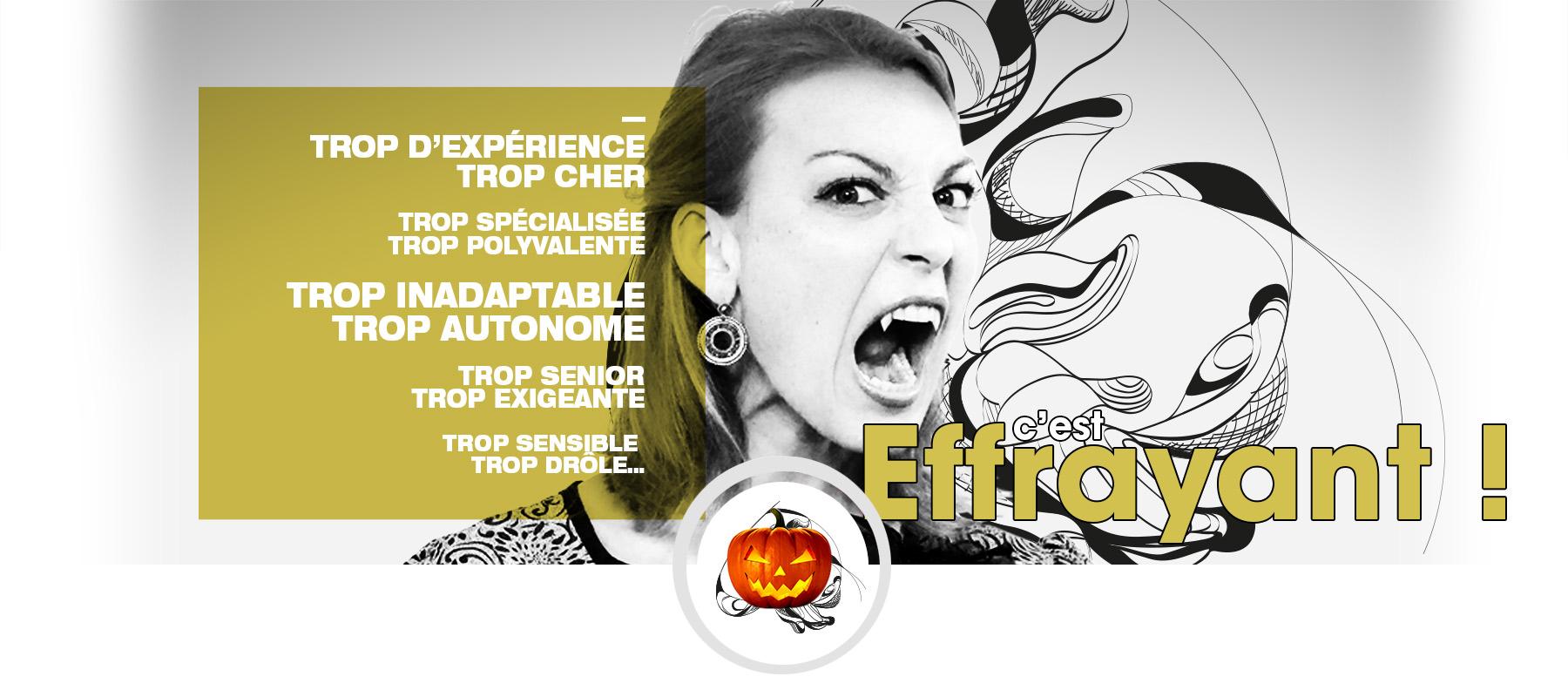 halloween - recrutement Savoie communication - Céline Pasteur - directeur artistique - concepteur rédacteur