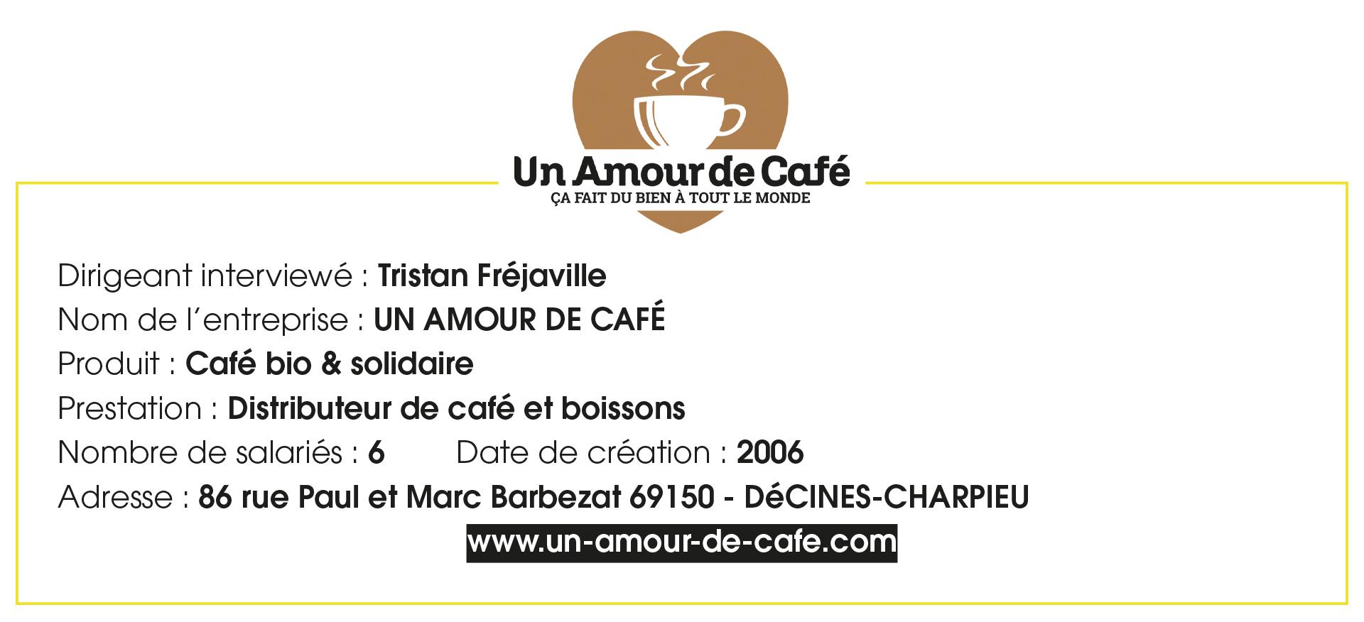 Entreprise éthique Un amour de Café